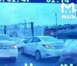 З'явилося відео моменту зіткнення поїзда з маршруткою в РФ