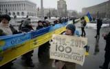Фото дня. У центрі Києва рекордний прапор розгорнули