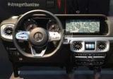 Новий Mercedes-Benz G-Class: фотографії інтер'єру